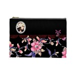 Elegance-Black Cosmetic Bag (Large)