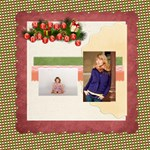 merry christmas - ScrapBook Page 8  x 8