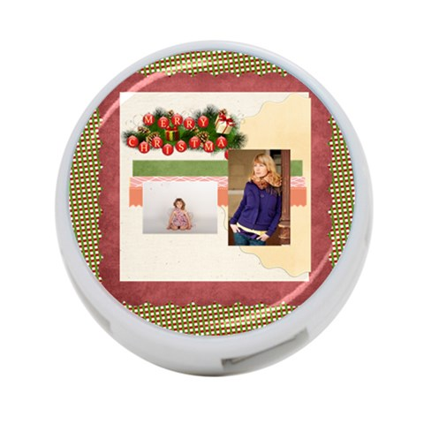 Merry Christmas By Anita   4 Port Usb Hub (one Side)   Gg037qrau9ji   Www Artscow Com Front