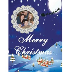Christmas Eve Christmas Card 4 5 X 7 By Kim Blair   Greeting Card 4 5  X 6    Ovai7iomuhrs   Www Artscow Com Front Cover