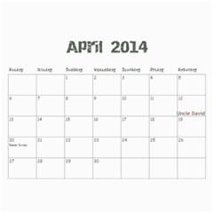 Mom 2013 By Amanda   Wall Calendar 11  X 8 5  (18 Months)   Fa4zbcjfxunc   Www Artscow Com Apr 2014