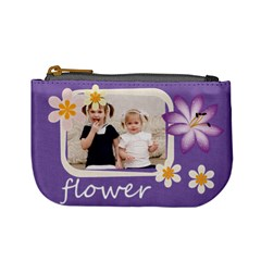 Flower By Joely   Mini Coin Purse   4u1pymdl7u29   Www Artscow Com Front