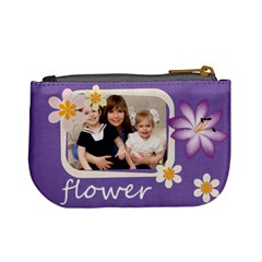 Flower By Joely   Mini Coin Purse   4u1pymdl7u29   Www Artscow Com Back