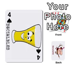 Cards By Lesley   Playing Cards 54 Designs   K6ty4l1lahjb   Www Artscow Com Front - Spade4