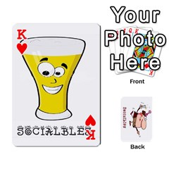 King Cards By Lesley   Playing Cards 54 Designs   K6ty4l1lahjb   Www Artscow Com Front - HeartK