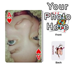 Ace Cards By Lesley   Playing Cards 54 Designs   K6ty4l1lahjb   Www Artscow Com Front - HeartA