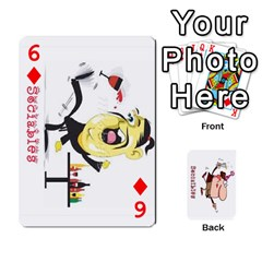 Cards By Lesley   Playing Cards 54 Designs   K6ty4l1lahjb   Www Artscow Com Front - Diamond6