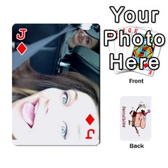 Jack Cards By Lesley   Playing Cards 54 Designs   K6ty4l1lahjb   Www Artscow Com Front - DiamondJ