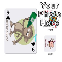 Cards By Lesley   Playing Cards 54 Designs   K6ty4l1lahjb   Www Artscow Com Front - Spade9