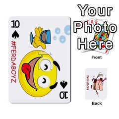 Cards By Lesley   Playing Cards 54 Designs   K6ty4l1lahjb   Www Artscow Com Front - Spade10