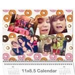 natcal - Wall Calendar 11  x 8.5  (12-Months)