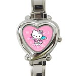 Hello Kitty Olivias Watch - Heart Italian Charm Watch