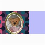 10 cards with old teddy bears ( with modern /retro backgrounds) - 4  x 8  Photo Cards
