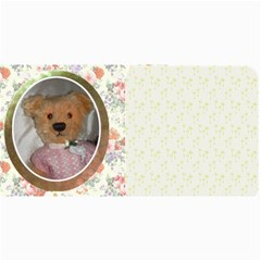 10 Cards With  Old Teddy Bears With Old Fashioned Backgrounds By Riksu   4  X 8  Photo Cards   Itsd08ccqqsn   Www Artscow Com 8 x4 Photo Card - 1