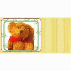 10 Cards With  Old Teddy Bears With Old Fashioned Backgrounds By Riksu   4  X 8  Photo Cards   Itsd08ccqqsn   Www Artscow Com 8 x4 Photo Card - 4