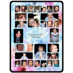 Blue Flower Grandchildren XL Blanket - Fleece Blanket (Extra Large)