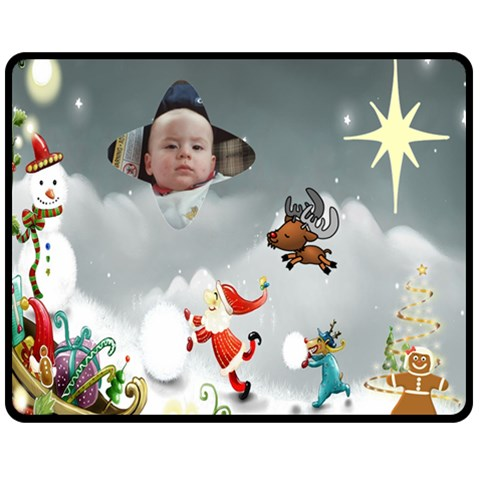 Jimmy By Maryanne   Fleece Blanket (medium)   Z7llvhrfzl7o   Www Artscow Com 60 x50 Blanket Front