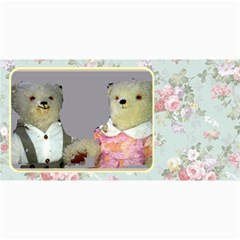 10 Cards  Old Teddy Bears,  Series 2 ,( Your Own Text) By Riksu   4  X 8  Photo Cards   Dl9v8v49quvg   Www Artscow Com 8 x4 Photo Card - 2