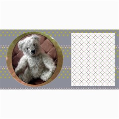10 Cards  Old Teddy Bears,  Series 2 ,( Your Own Text) By Riksu   4  X 8  Photo Cards   Dl9v8v49quvg   Www Artscow Com 8 x4 Photo Card - 4