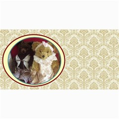 10 Cards  Old Teddy Bears,  Series 2 ,( Your Own Text) By Riksu   4  X 8  Photo Cards   Dl9v8v49quvg   Www Artscow Com 8 x4 Photo Card - 10