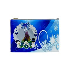 Presi By Maria Georgieva   Cosmetic Bag (medium)   8q77uxkzho8l   Www Artscow Com Front