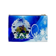 Presi By Maria Georgieva   Cosmetic Bag (medium)   8q77uxkzho8l   Www Artscow Com Back