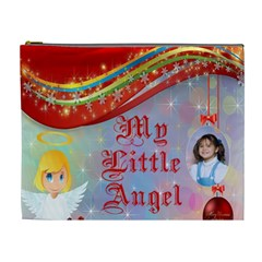 My Little Angel Cosmetic Bag (xl) By Kim Blair   Cosmetic Bag (xl)   81k0r03ih5ei   Www Artscow Com Front