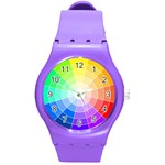 watch.rainbow - Round Plastic Sport Watch Medium