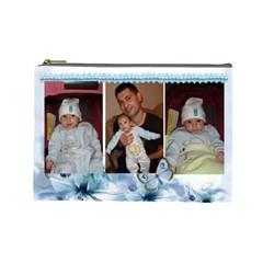 Mimi2 By Maria Georgieva   Cosmetic Bag (large)   I1xwmaimza8t   Www Artscow Com Front