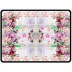 Flower Fun XL Blanket - Fleece Blanket (Extra Large)