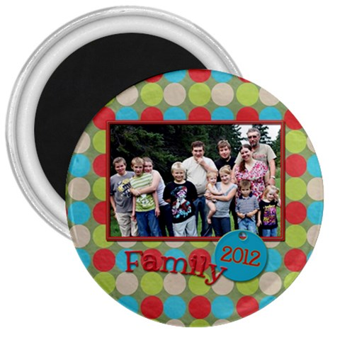 Family Magnet By Patricia W   3  Magnet   6xkvdswvwd9c   Www Artscow Com Front
