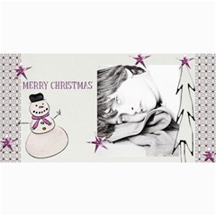 4  X 8  Photo Cards Christmas 04 By Deca   4  X 8  Photo Cards   Kwi2ghjqb7ju   Www Artscow Com 8 x4 Photo Card - 4