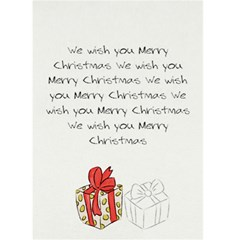 Greeting Card 5  X 7  Christmas 03 By Deca   Greeting Card 5  X 7    Miwvpfyesuci   Www Artscow Com Back Inside