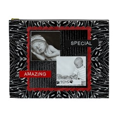 Very Special Xl Cosmetic Bag By Lil    Cosmetic Bag (xl)   39ub9u4505a8   Www Artscow Com Front
