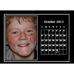 2013 Desktop Dalendar By Megan Elliott   Desktop Calendar 8 5  X 6    Pvjg22zmbmu8   Www Artscow Com Oct 2013