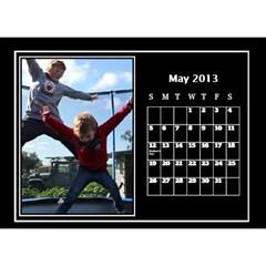 2013 Desktop Dalendar By Megan Elliott   Desktop Calendar 8 5  X 6    Pvjg22zmbmu8   Www Artscow Com May 2013