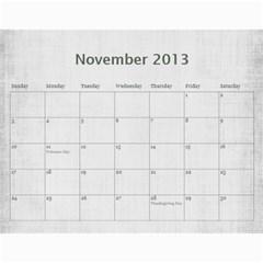 Sisters Calendar For Darlene By Debra Macv   Wall Calendar 11  X 8 5  (12 Months)   Djor62gnzq44   Www Artscow Com Nov 2013