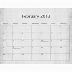 Sisters Calendar For Darlene By Debra Macv   Wall Calendar 11  X 8 5  (12 Months)   Djor62gnzq44   Www Artscow Com Feb 2013