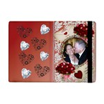 Hearts and Roses Apple ipad mini flip case