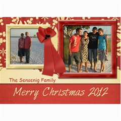 Christmas Card By Mom   5  X 7  Photo Cards   4vwhdourptm4   Www Artscow Com 7 x5 Photo Card - 8