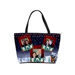 snowmen joy classic shoulder bag 2 sides - Classic Shoulder Handbag