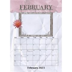 Lovely Desktop Calendar 6 x8 5  By Lil    Desktop Calendar 6  X 8 5    Qtjrcaaewzt4   Www Artscow Com Feb 2015