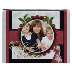 Merry Christmas By Joely   Cosmetic Bag (xxxl)   Qqnh3c6fl0os   Www Artscow Com Back