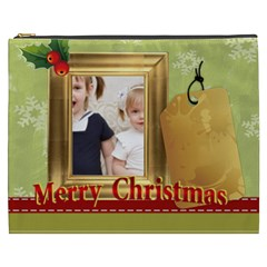 Merry Christmas By Joely   Cosmetic Bag (xxxl)   Uux0ixirnr20   Www Artscow Com Front