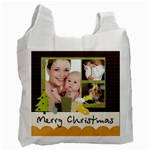 christmas - Recycle Bag (One Side)