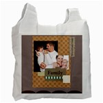 family - Recycle Bag (One Side)