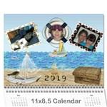 Ocean life calendar 2015 - Wall Calendar 11  x 8.5  (12-Months)