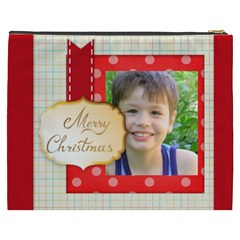 Merry Christmas By Joely   Cosmetic Bag (xxxl)   Ip1q2ol7xo3y   Www Artscow Com Back
