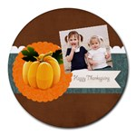halloween - Collage Round Mousepad