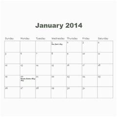 2013 Calendar By J  Richardson   Wall Calendar 11  X 8 5  (12 Months)   Hj1l7y50vf63   Www Artscow Com Jan 2014